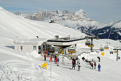 Sellaronda am Pordoijoch